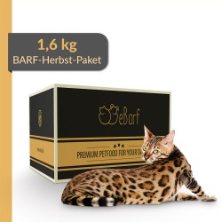BARF-Herbst-Paket für Katzen