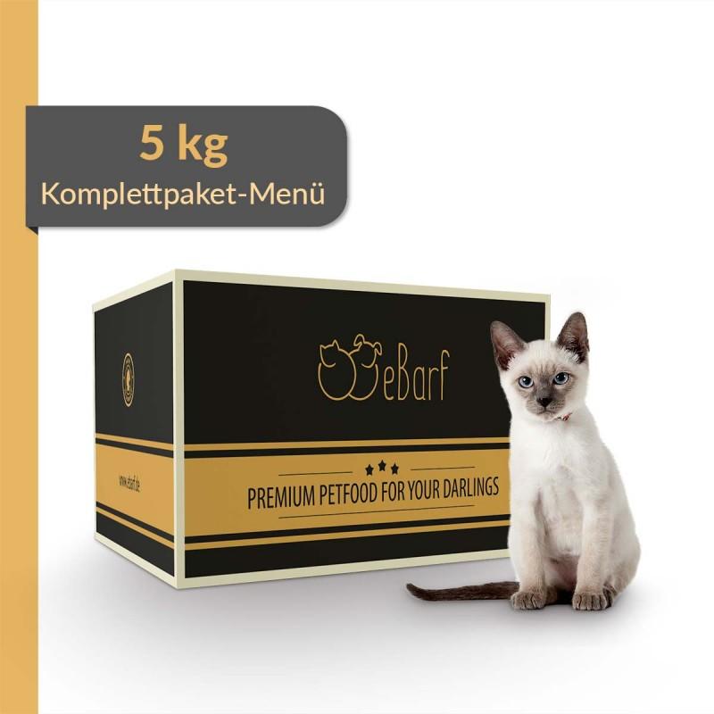 Komplettpaket-Menü für Katzen